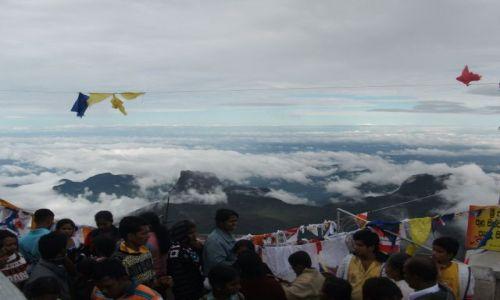 Zdjecie SRI LANKA / Adam s Peak (Sri Pada) / Adam s Peak (Sri Pada) / ... na szczycie ...