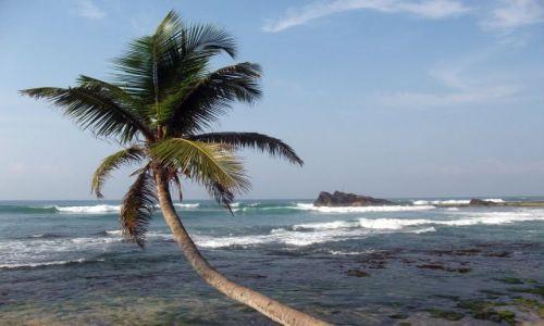 Zdjecie SRI LANKA / ... południowa część wyspy ... / ... gdzieś pomiędzy Galle a Matarą... / ... morze wciąga ....