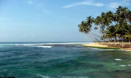 Zdjecie SRI LANKA / ... południowa część wyspy ... / ... gdzieś pomiędzy Galle a Matarą... / ... szmaragdowe ....