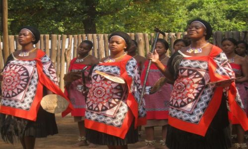 Zdjęcie SUAZI / Suazi  -  Afryka Południowa / Suazi  -  Afryka Połudsniowa / Tańce