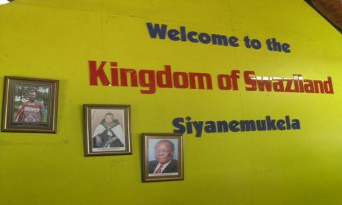 SUAZI / Suazi  - Afryka Południowa / Suazi  -  Afryka Południowa / Powitanie w królestwie Suazi