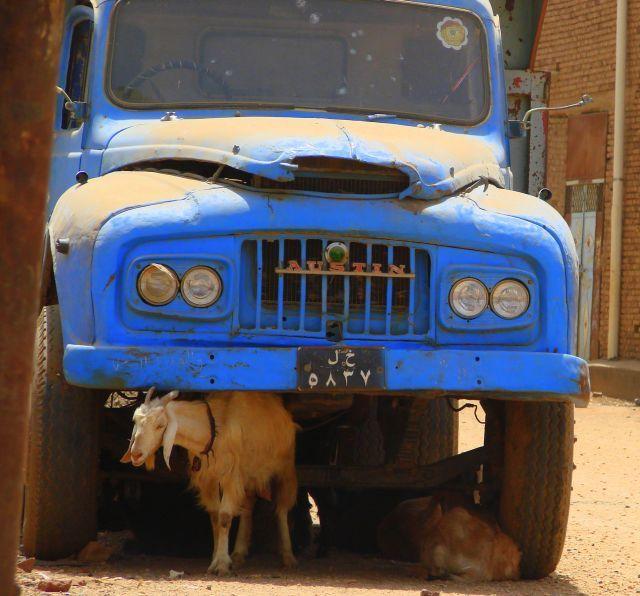 Zdjęcia: Chartum, Chartum, Zaparkowały, SUDAN