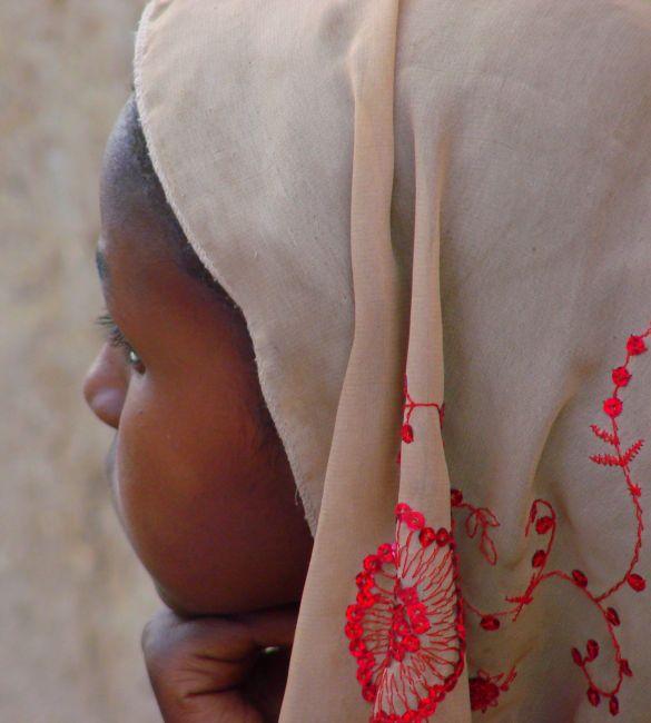 Zdjęcia: Chartum, Chartum, Chustka, SUDAN
