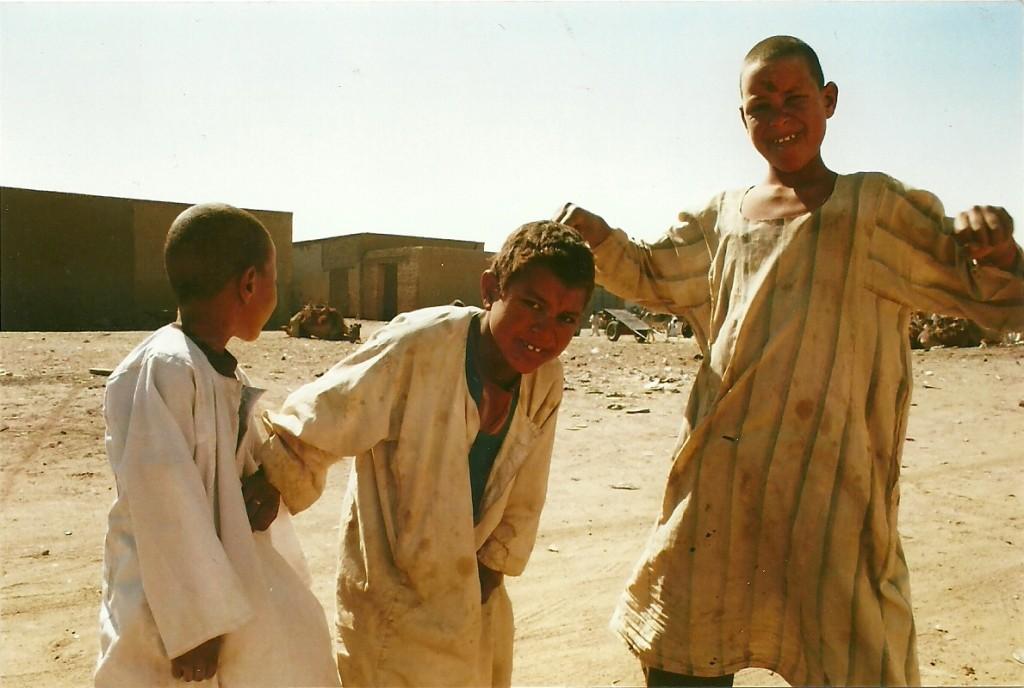 Zdjęcia: Dongola, Sudan Płn., Chłopcy, SUDAN
