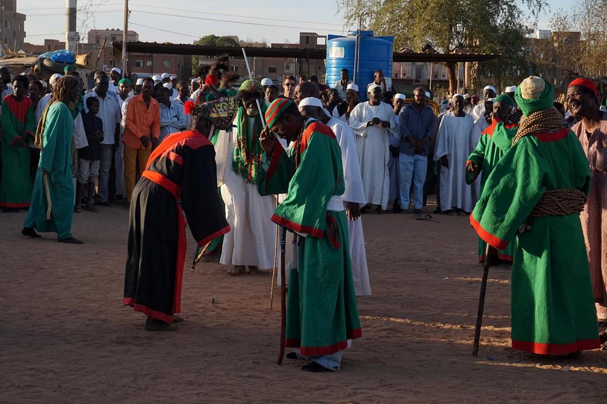 Zdjęcia: Omdurman, Khartoum, Obrzęd Zikr w Omdurmanie, SUDAN