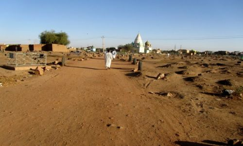 Zdjęcie SUDAN / AFRYKA / CHARTUM / SUDAN - MARSZ DERWISZOW W STOLICY CHARTUM