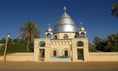 Zdjęcie SUDAN / AFRYKA / OMDURMAN / MIEJSCE POCHOWKU MAHDI'EGO