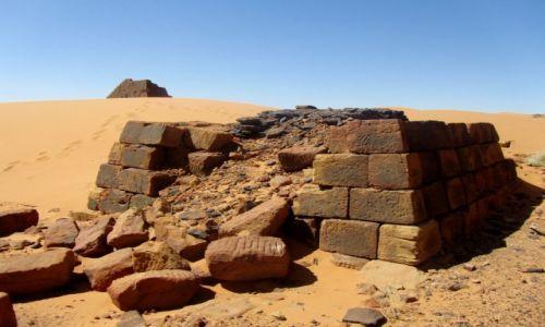 Zdjęcie SUDAN / AFRYKA / MEROE / MEROE - SUDAN
