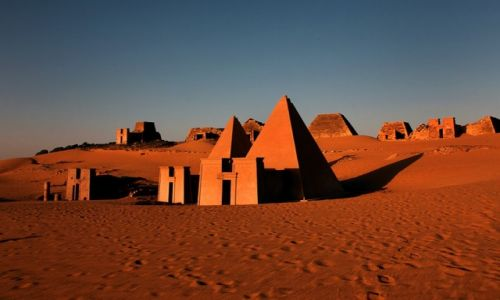 Zdjecie SUDAN / Al Khartum / Meroe / Meroe