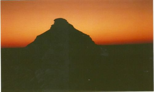 Zdjecie SUDAN / Sudan PŁN. / Wadi Halfa / Góra