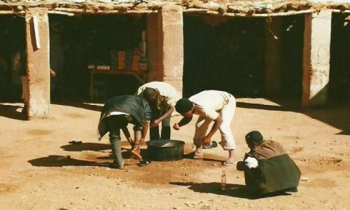 Zdjecie SUDAN / Sudan Płn. / Dongola-Chartum / Toaleta