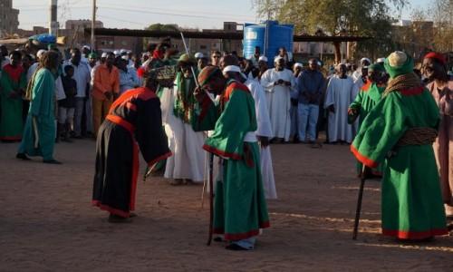 Zdjecie SUDAN / Khartoum / Omdurman / Obrzęd Zikr w Omdurmanie