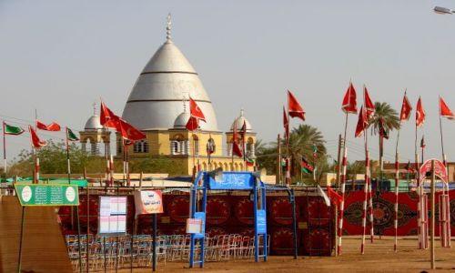 Zdjęcie SUDAN / Hartum / Hartum / Grób  Mahdiego  Hartu,