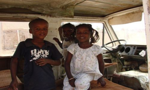 Zdjęcie SUDAN / Chartum / Chartum / Kierowcy
