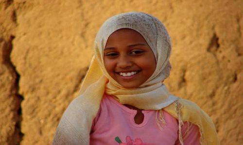 Zdjęcie SUDAN / Chartum / Chartum / Uśmiech