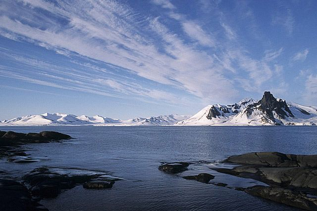 Zdj�cia: Hornsund, Spitsbergen, Krajobrazy Spitsbergenu, SVALBARD