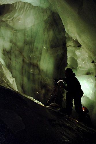 Zdjęcia: Hornsund, Spitsbergen, Eksploracja jaskiń w lodowcach, SVALBARD