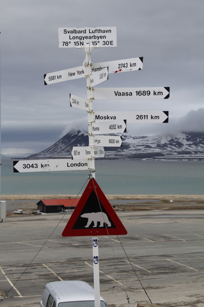 Zdjęcia: Lotnisko Longyearbyen, Spitsbergen, Uwaga na miśki 1, SVALBARD