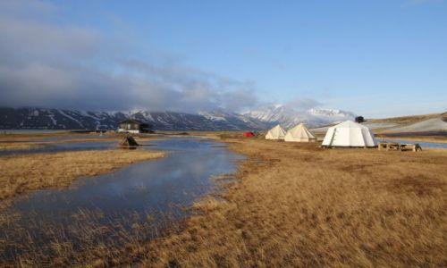Zdjęcie SVALBARD / Spitsbergen / Spitsbergen Camping / Spitsbergen Camping