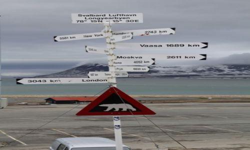 Zdjęcie SVALBARD / Spitsbergen / Lotnisko Longyearbyen / Uwaga na miśki 1