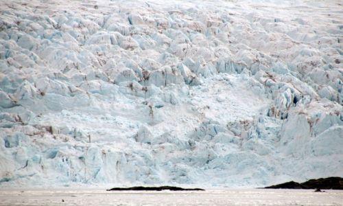 Zdjęcie SVALBARD / Spitsbergen / Billefjorden, Nordenskiöldbreen / Konkurs Svalbard, Lodowiec Nordenskiöldbreen