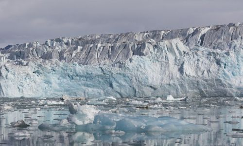Zdjecie SVALBARD / Svalbard / Lodowiec Lilliehookbreen / Lodowiec Lilliehookbreen