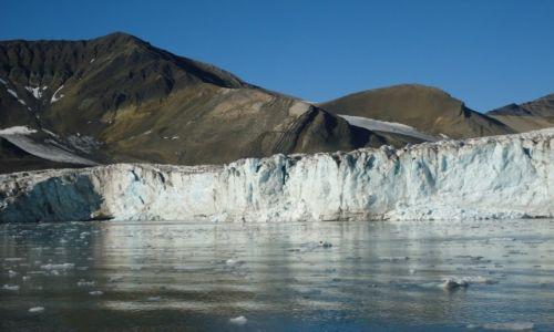 Zdjęcie SVALBARD / Spitsbergen / Esmarkbreen / Lodowiec