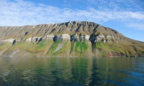 Zdjecie SVALBARD / Spitsbergen / okolice Grumantbyen / Krajobraz