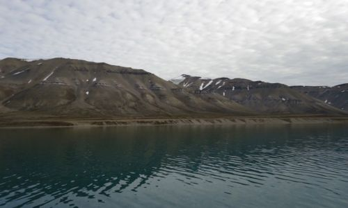 SVALBARD / Spitsbergen / Park Narodowy Sassen-Bunsow Land / Krajobraz