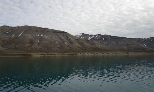Zdjecie SVALBARD / Spitsbergen / Park Narodowy Sassen-Bunsow Land / Krajobraz