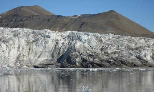 Zdjecie SVALBARD / Spitsbergen / Esmarkbreen / Lodowiec