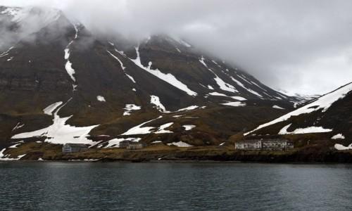 SVALBARD / Isfjorden / Grumantbyen / Grumantbyen