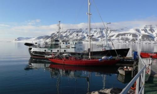 Zdjęcie SVALBARD / Szpicbergen / Longyearbyen / Adventfiord