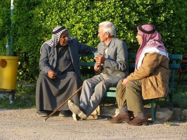 Zdjęcia: Hama, Rozmowa, SYRIA