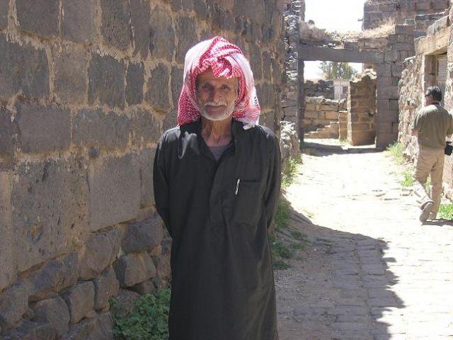 Zdjęcia: Bosra, Mieszkaniec Bosry, SYRIA