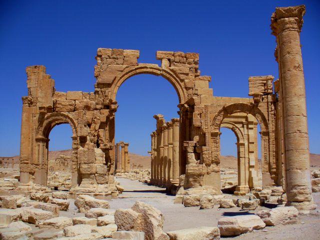 Zdjęcia: Palmyra, Tadmor, Palmyra, SYRIA