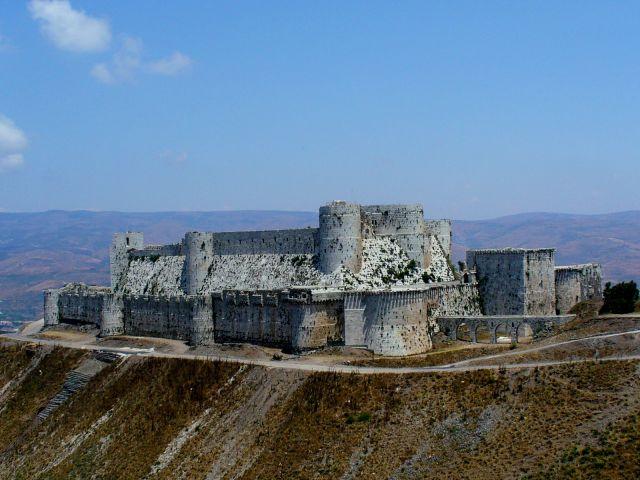 Zdjęcia: góry Dżabal an-Nusajrijja, Crack de Chevaliers, SYRIA