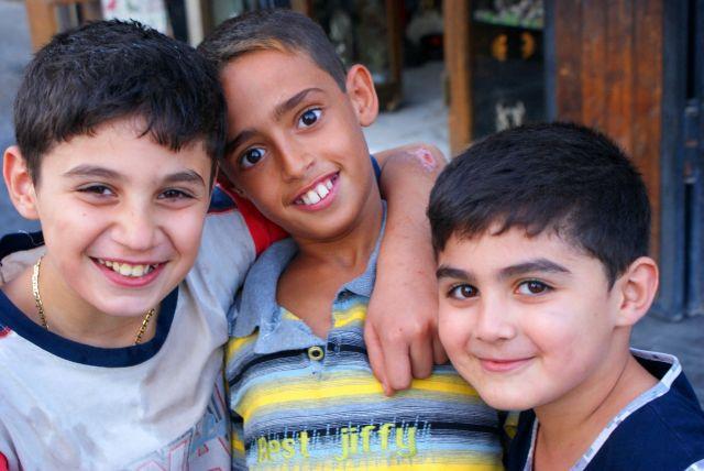 Zdjęcia: Syyria, Allepo, dzieci, SYRIA