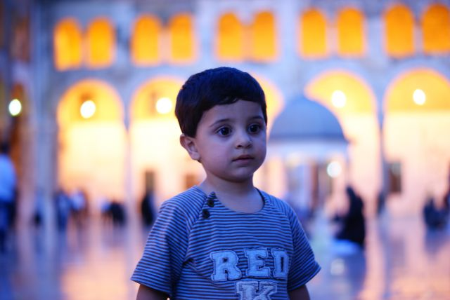 Zdjęcia: damasc, Damaszek, Mały Syryjczyk, SYRIA