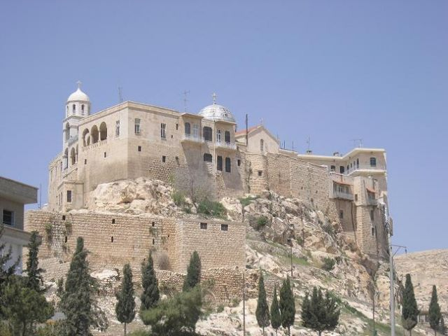 Zdjęcia: Sydnaya, Klasztor Dziewicy, SYRIA