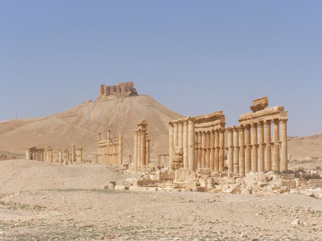 Zdjęcia: palmyra, ruiny, SYRIA