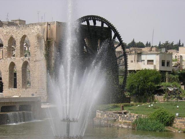 Zdjęcia: Hama, Koła wodne, SYRIA