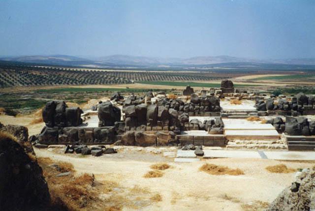 Zdjęcia: Ain Dara, Ruiny hetyckiej świątyni bogini Isztar, SYRIA
