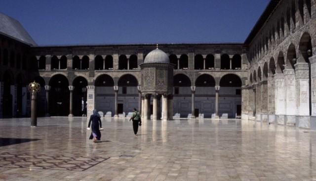 Zdjęcia: Damaszek, Środkowa Syria, Meczet Umajjadów, SYRIA