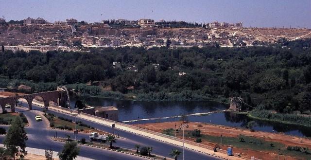 Zdjęcia: Hama, Zachodnia Syria, Panorama miasta, SYRIA