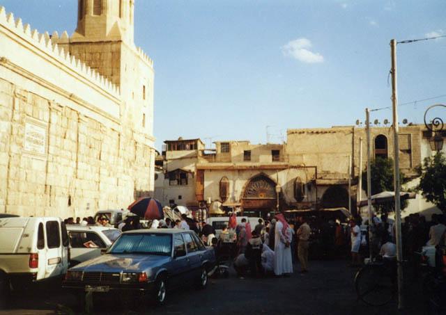 Zdjęcia: Damaszek, Targ obok meczet Omajadów, SYRIA