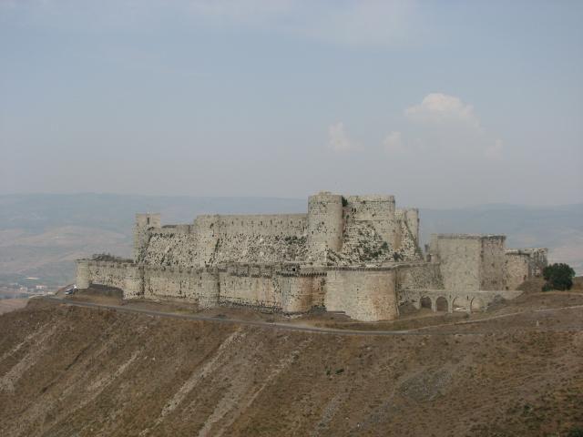 Zdjęcia: Krak des Chevaliers, Zamek Krzyżowców, SYRIA