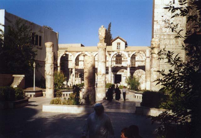 Zdjęcia: Damaszek, Ruiny świątyni Jowisza, SYRIA