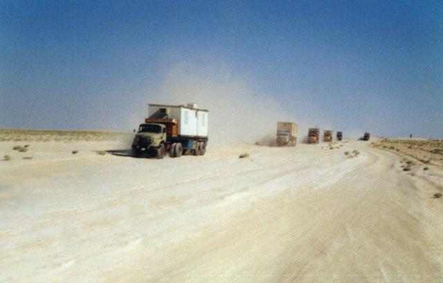 Zdjęcia: Pustynia syryjska, Droga przez pustynie, SYRIA