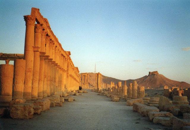Zdjęcia: Palmyra, Palmyra - ruiny, SYRIA